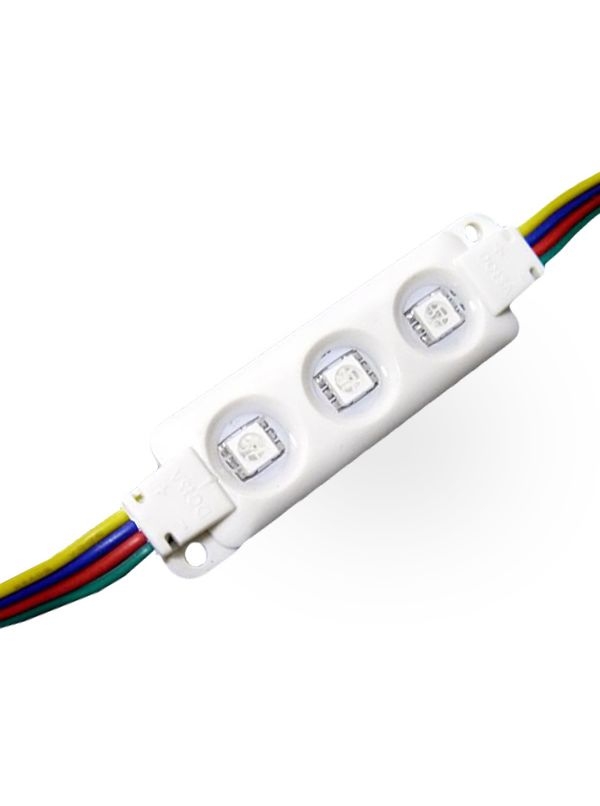 MODULO 3 LED SMD 5050 IP66 RGB