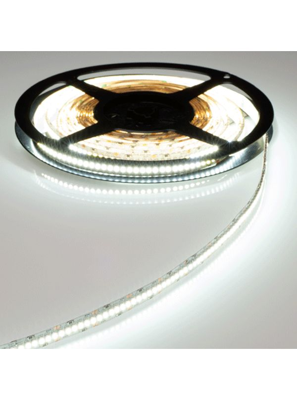 STRIP 3528 600 LED IP65 IMPERMEABILE WARM 12V
