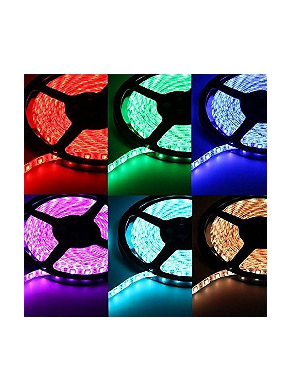 STRIP 5050 300 LED RGB IMPERMEABILE IP65 24V