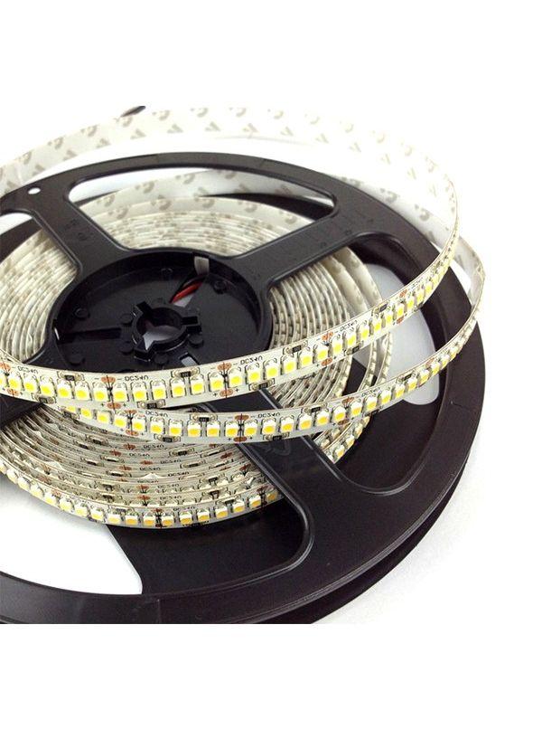 STRIP 3528 1200 LED IP20 NATURAL 24V SINGOLA FILA