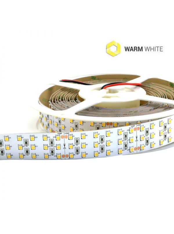 STRIP 1440 SMD 26MM 2835 IP20 WARM 24V Ra90