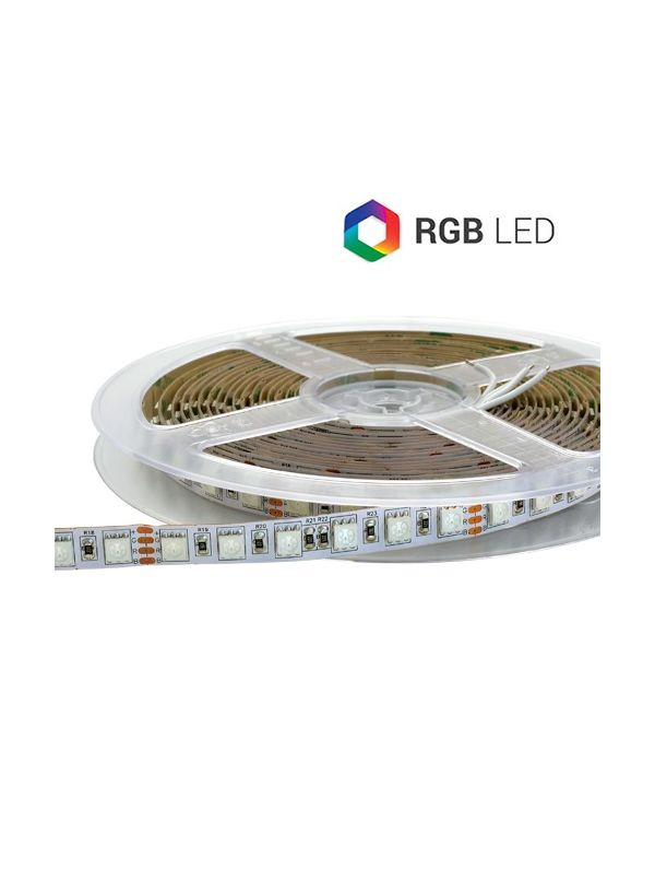 STRIP LED 420 SMD 5050 RGB 100W IP65 24V SUPER BRIGHT