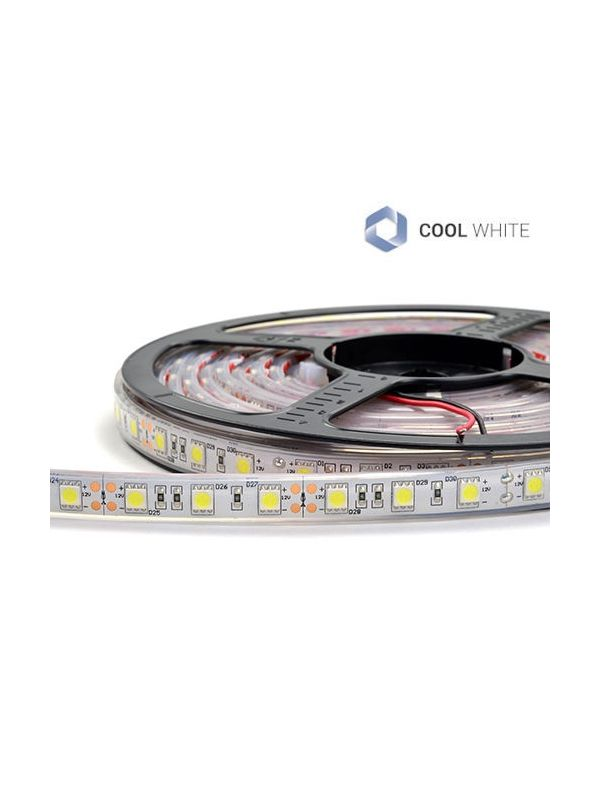 STRIP 5050 300 LED IMPERMEABILE IP67 COOL 12V