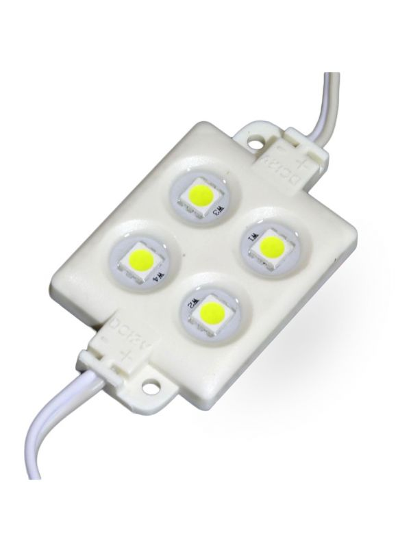 MODULO 4 LED SMD 5050 IP66 COOL