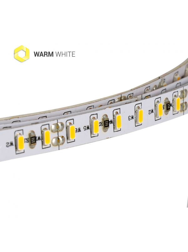 STRIP 840 SMD 3014 PCB 6MM IP20 WARM 24V